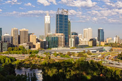 View from Kings Park - Perth stock images