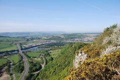 View From Kinnoull Hill Stock Images