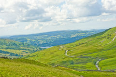 View from Kirkstone Pass. An image of the view to Lake Windermere from Kirkstone Pass. The Lake District is a major tourist destination in the North West of Royalty Free Stock Photography