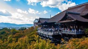 View of kiyomizudera temple Stock Photo