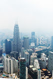View from KL Tower. Stock Photos