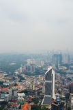 View from KL Tower. Royalty Free Stock Photography