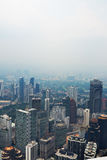 View from KL Tower. Stock Photo