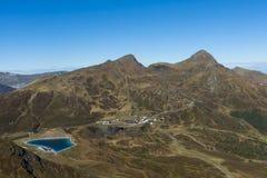 View on Kleine Scheidegg in Autumn Royalty Free Stock Image