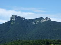 A view of Klek mountain royalty free stock photo