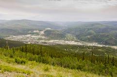 View of the Klondike, Yukon Royalty Free Stock Images