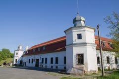 View of Kluknava castle, Slovakia Royalty Free Stock Photography