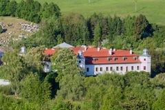 View of Kluknava castle, Slovakia Royalty Free Stock Photos