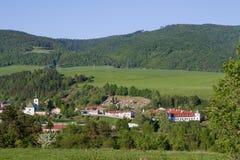 View of Kluknava, Slovakia Royalty Free Stock Photos