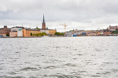 View on Knights church in Stockholm Royalty Free Stock Image