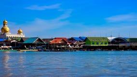 View of Ko Panyi Island,Phang Nga Province, Thailand Royalty Free Stock Images