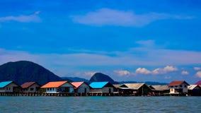 View of Ko Panyi Island,Phang Nga Province, Thailand Stock Photography