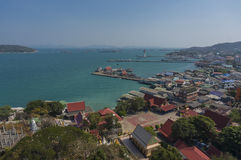 View of Ko Sichang Royalty Free Stock Images