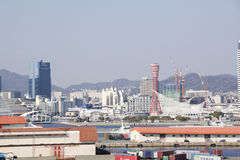 View on Kobe City Stock Photography