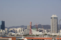 View on Kobe City Royalty Free Stock Photography