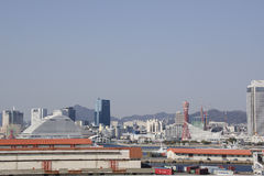 View on Kobe City Royalty Free Stock Images
