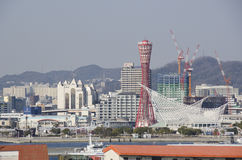 View on Kobe City Stock Images