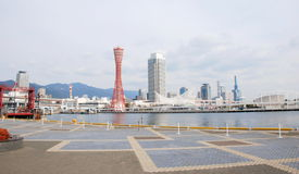 View of Kobe tower and city ,Japan Stock Photography