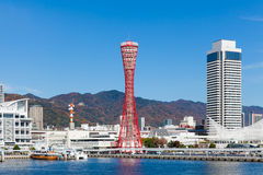 View of Kobe tower Royalty Free Stock Photos