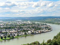 View of Koblenz city, Germany Stock Photo