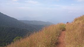 View from Kodachadri Trekking Trail Royalty Free Stock Photography