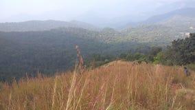 View from Kodachadri Trekking Trail Stock Images