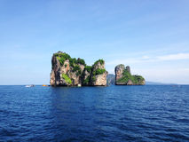 View of Koh Hah, the island in south andaman, Thailand Royalty Free Stock Images