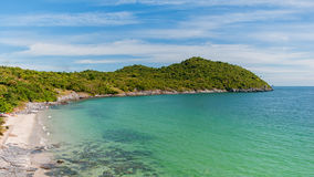 View Koh Sichang. In Thailand, Deep Blue Sea Royalty Free Stock Photo