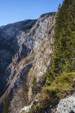 View of Komna from Komarča. Footpath Royalty Free Stock Photography