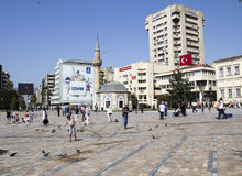 A view from Konak Square, izmir. Royalty Free Stock Image