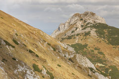 View from Kondracka Kopa to Giewont - Tatras Mount Royalty Free Stock Images