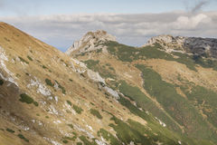View from Kondracka Kopa to Giewont - Tatras Mount Stock Photography