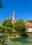 View of Konstanz Cathedral in Germany Stock Photo