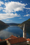 View on Kotor bay Stock Images