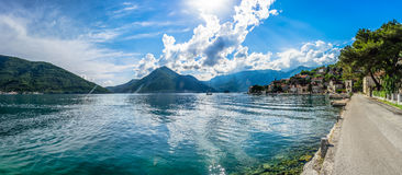 View on Kotor bay Royalty Free Stock Image