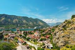 View on Kotor bay Royalty Free Stock Image