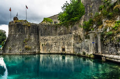 View on Kotor fortress Stock Photo