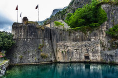 View on Kotor fortress Stock Photography