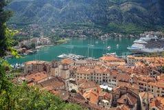 View of Kotor, Montenegro Royalty Free Stock Photos