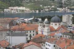 View on the Kotor. Royalty Free Stock Photos