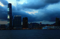 View of the Kowloon, Hong Kong. Stock Images