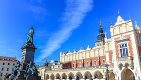 A view of the Krakow the old square Sukiennice - Poland royalty free stock photography