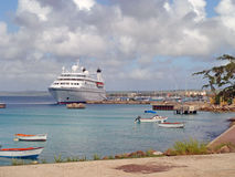 View of Kralendijk, Bonaire, Caribbean Royalty Free Stock Photo