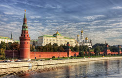 View of the Kremlin Embankment Stock Image