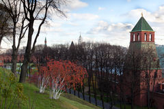 View from the Kremlin hill Royalty Free Stock Photography