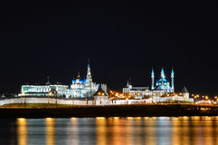 View of Kremlin in Kazan Russia. Stock Image
