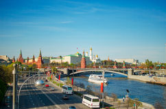View on the Kremlin in Moscow Royalty Free Stock Photography