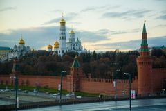 View on Kremlin stock photography