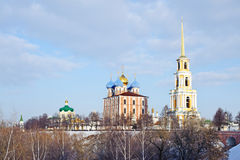 View on The Kremlin of Ryazan Royalty Free Stock Image