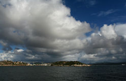 View of Kristiansund Norway royalty free stock images